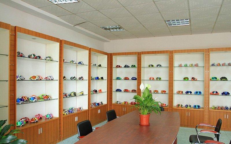 Goggle Display room