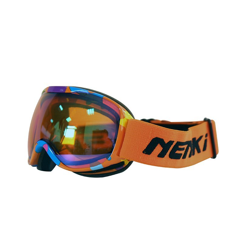 Ski-goggle-NK-1002Kids-Orange-Blue