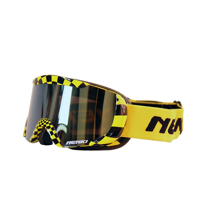 Ski-Goggle-NK-1003Kids-Black-Yellow