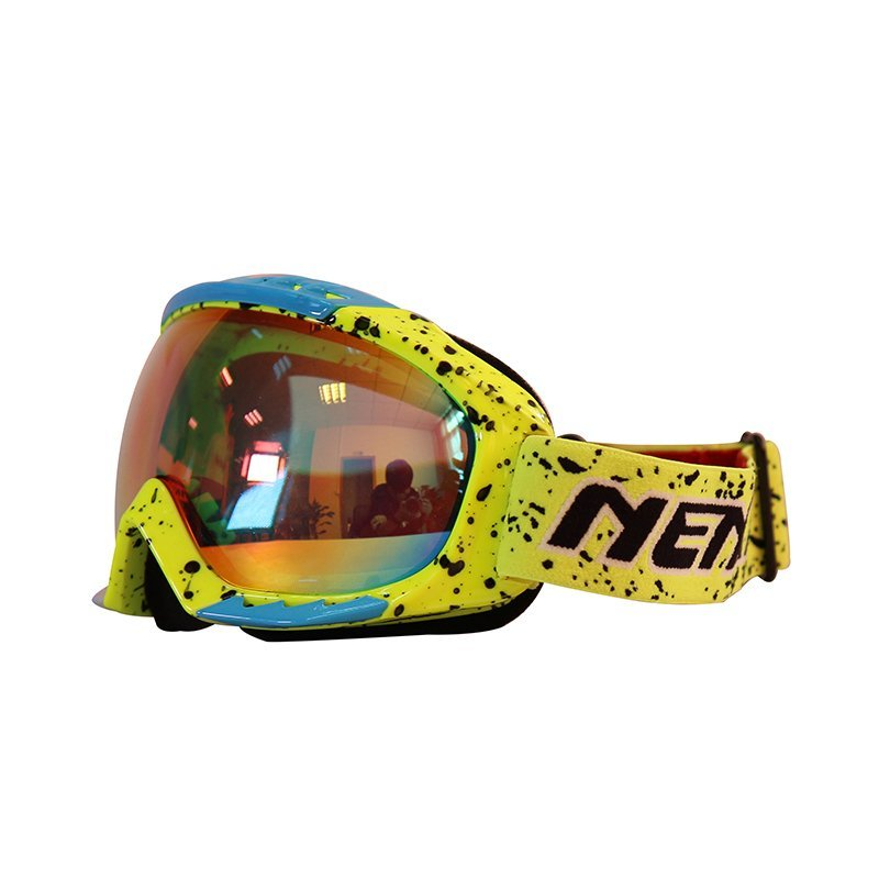 Ski-Goggle-NK-1005-Yellow