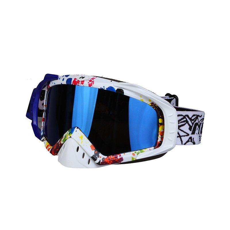 Ski-Goggle-NK-1023-White-Blue