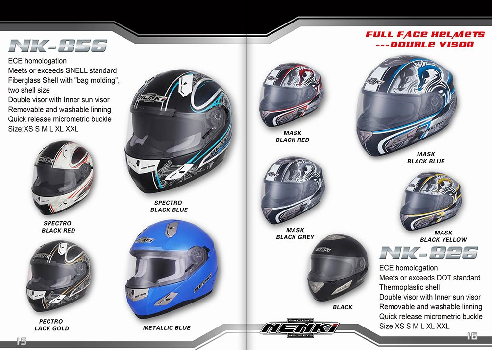NENKI 2017 HELMETS COLLECTION09