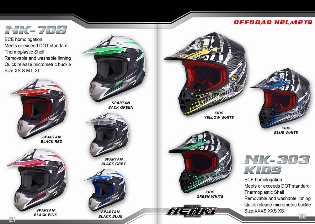 NENKI 2017 HELMETS COLLECTION12